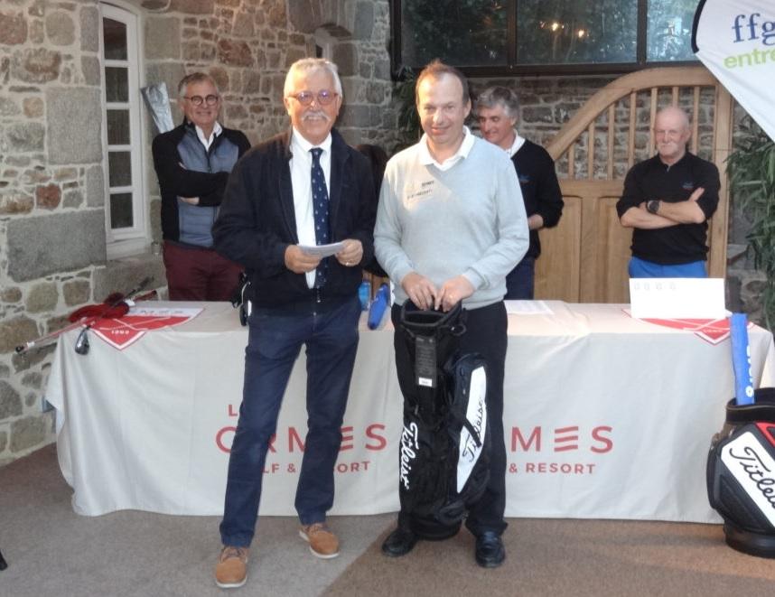 Résultats du Championnat Individuel de Golf Entreprise de Bretagne